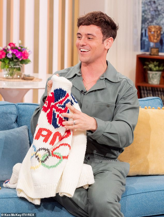 , Tom Daley reveals that some of his father's ashes were buried by the London 2012 diving platform, The Today News USA