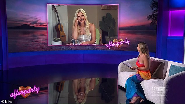 Coming soon!  Abbie Chatfield will return to host Love Island Afterparty returns next Thursday on Channel Nine