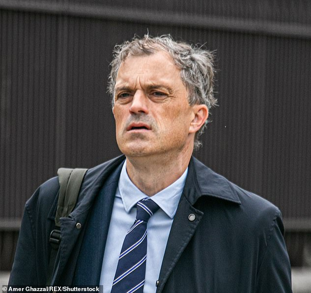Former chief Julian Smith (pictured) said Mr Allott's recent comments were 'completely unacceptable'