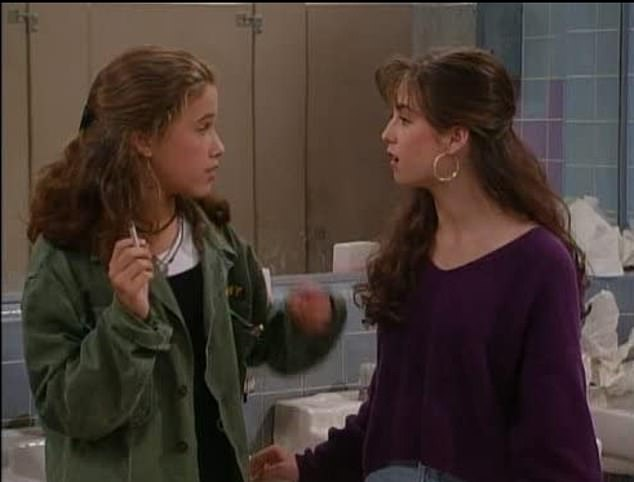 Lights, camera, action: Marla played Gia for two years in Full House