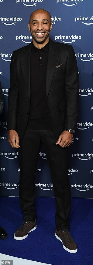 Former Gunners striker Thierry Henry