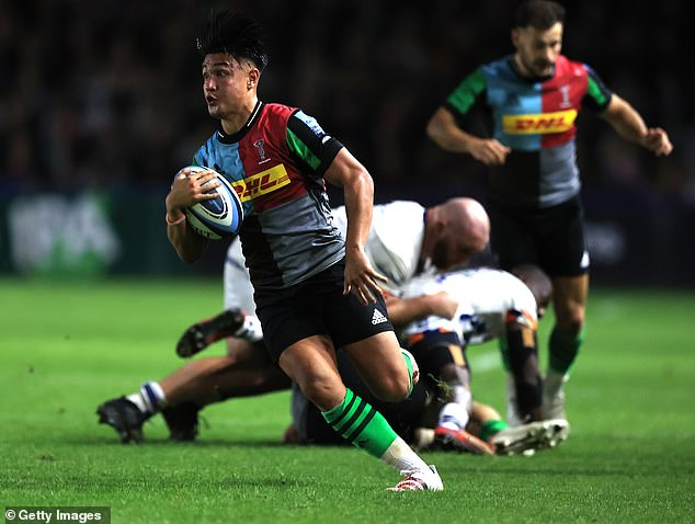 Jaws are yet to be retrieved from the floor since he inspired Quins to come back against Bristol