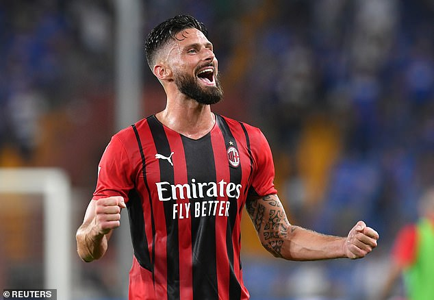 Settling in with AC Milan, Giroud admits he misses London already and could even have stayed