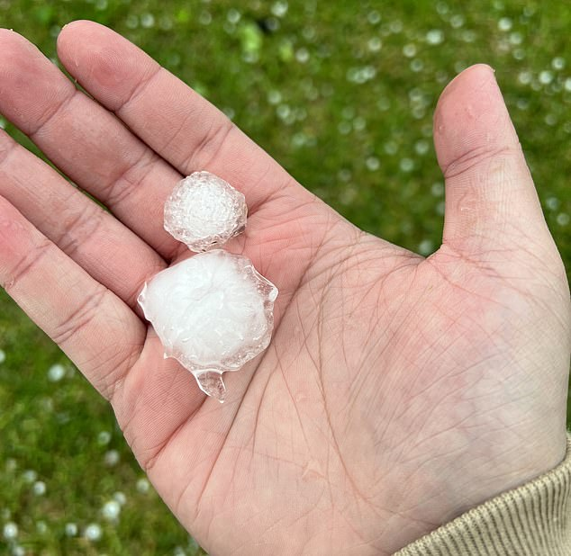 , TikTok video show Sydney driver desperately trying to to protect his sports car from hail, The Today News USA