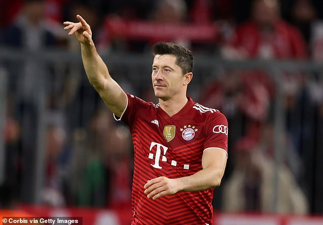 Manchester City are a 'potential destination' for Robert Lewandowski, according to reports
