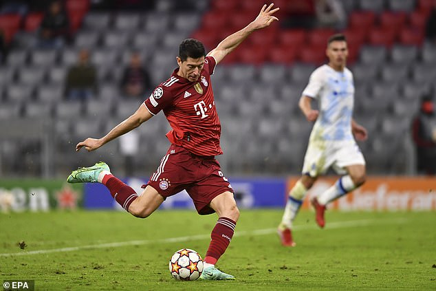 Lewandowski has said he is targeting four more years at the elite level, handing City a boost
