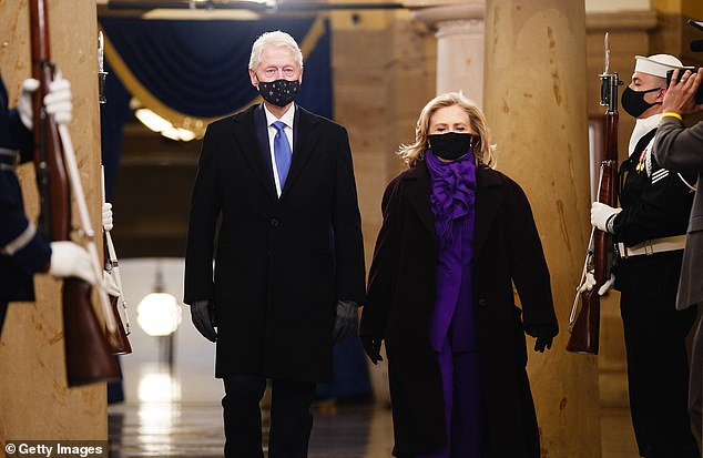Hillary Clinton was also in California for the event but it's unknown if she is currently at the hospital with her husband