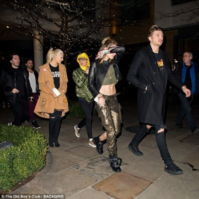 Cara Delevigne and Paris Jackson Hang Out Together
