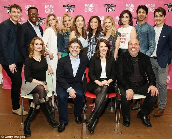 Cast of Tina Fey's Mean Girls musical promote premiere ...