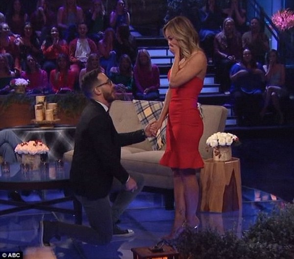 Clare Crawley accepts proposal on Bachelor Winter Games ...