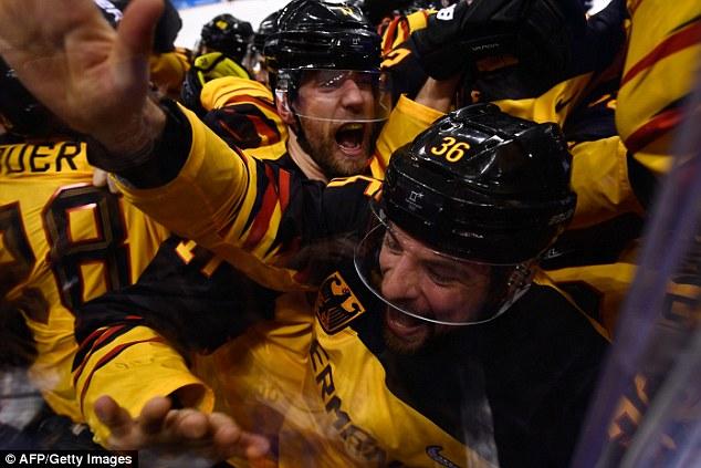 Germany Stun Canada To Reach Mens Ice Hockey Final