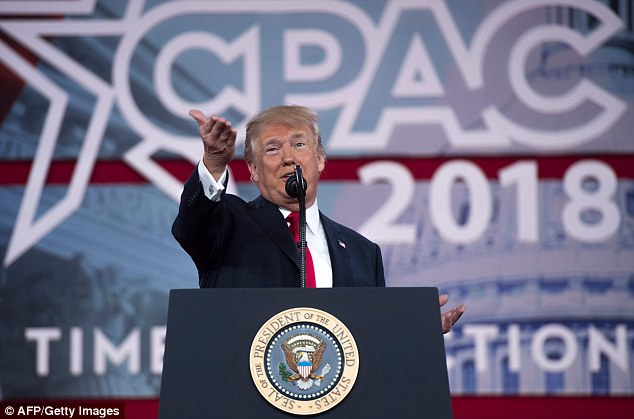 President Donald Trump has hit 50 per cent in Rasmussen's daily presidential approval tracking poll