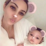 Kim Kardashian Share Photo of Chicago West