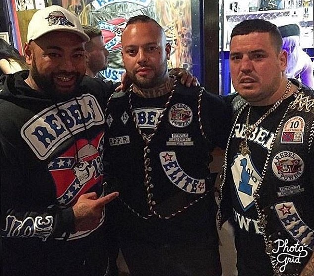 Daniel Lula (centre) joined in the Instagram feud on Tuesday morning, accusing both Geppert and Pechey of running away from a recent fight and also talking to police about the incident