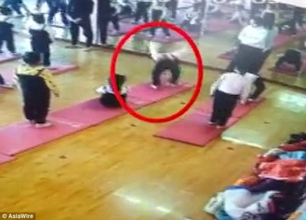 Girl paralysed for life after yoga move goes wrong | Daily ...