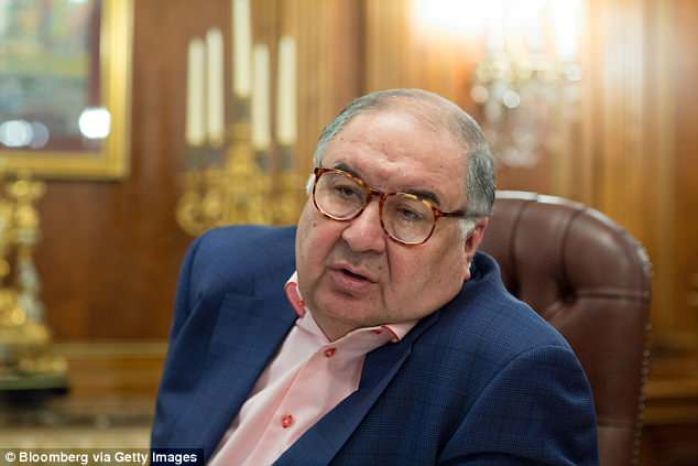 Alisher Usmanov had a £1bn bid to buy more shares in the club turned down last year