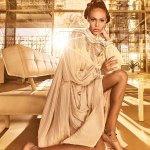 Joan Smalls Sizzle for Harper's Bazaar Arabia