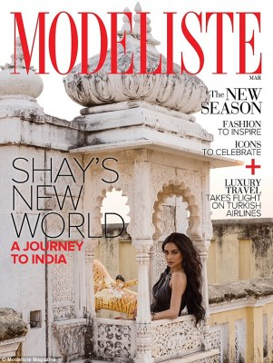 Shay Mitchell pose Topless for Modeliste Magazine