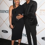 Pregnant,Tia Mowry at the Essence Awards in Beverly Hills