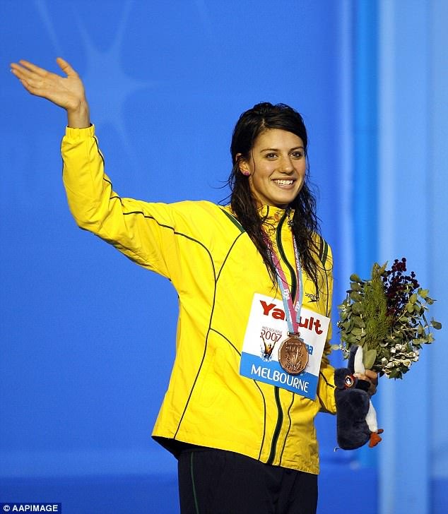 Early retirement: Stephanie left professional swimming in 2014