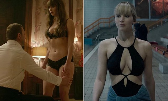 Jennifer Lawrence Opens Up About Her Nipples In Red Sparrow Daily Mail Online