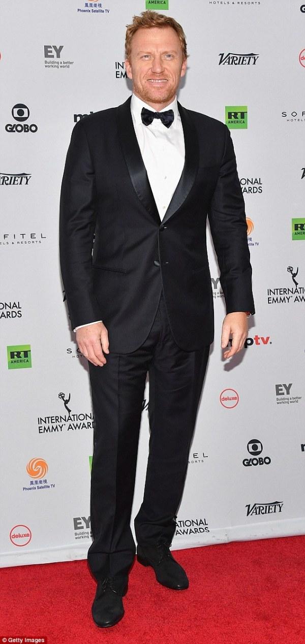 Grey's Anatomy star Kevin McKidd marries girlfriend ...
