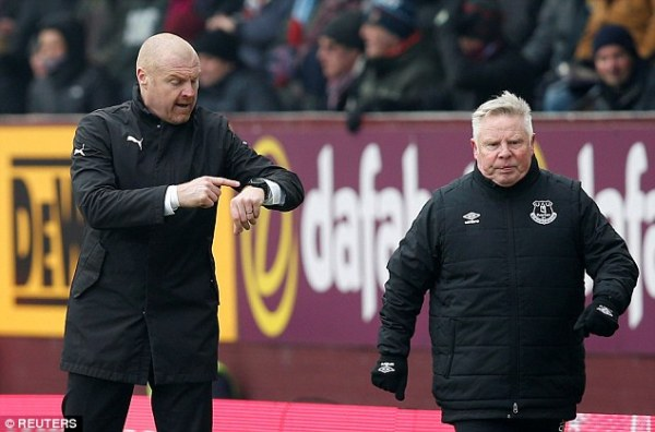 Burnley boss Sean Dyche half-time history lesson sparks ...