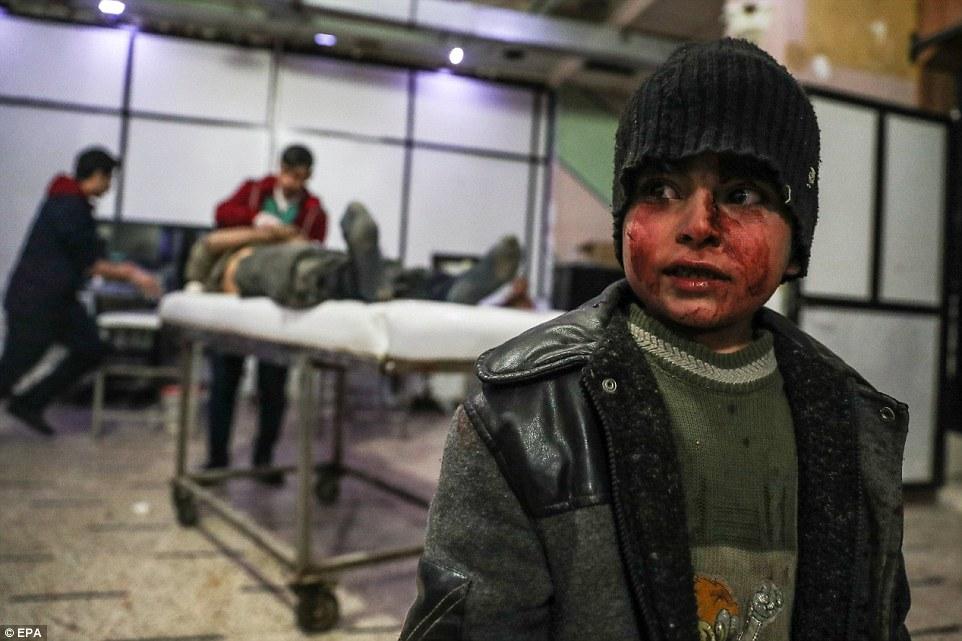 Desde el 18 de febrero, más de 640 civiles, incluidos 150 niños, han sido asesinados durante los ataques contra Ghouta Oriental.