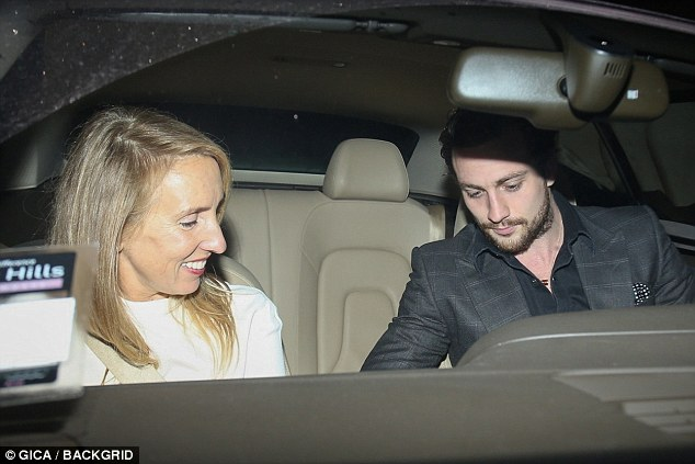 Aaron Taylor-Johnson and wife Sam enjoy a date night in ...