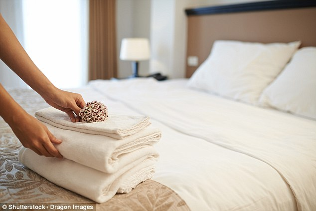 Is it ever OK to take home items that are left in hotel rooms? (file picture)