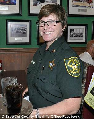 Captain Jan Jordan who told deputies to 'stage' at Florida shooting | Daily Mail Online