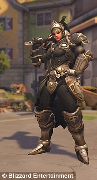 All Of New Overwatch Hero Brigittes Skins Revealed Daily Mail Online