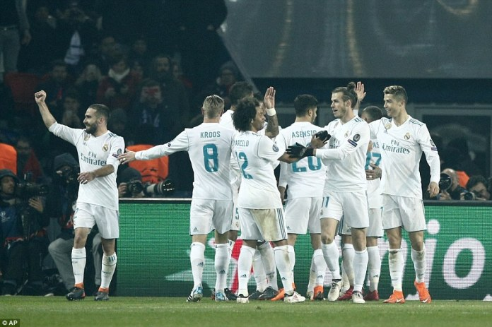 But the holders booked their place the last-eight for the eighth year running thanks to Casemiro's winner in the French capital