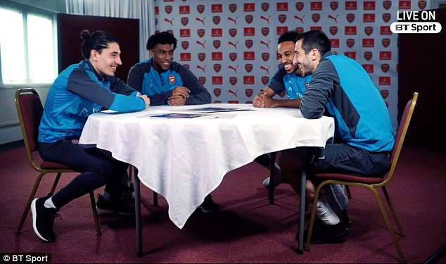 Hector Bellerin and Alex Iwobi have explained toPierre-Emerick Aubameyang and Henrikh Mkhitaryan what it's like to play for Arsenal