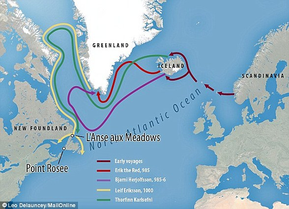 Some experts believe that the Vikings may have discovered North America almost 500 years before Christopher Columbus made his famous trip to the New World