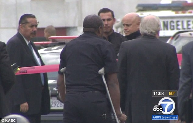 LAPD Chief Charlie Beck had recommended that charges be brought against Proctor (on crutches) considering that Glenn was unarmed, and his death sparked a series of protests across Los Angeles