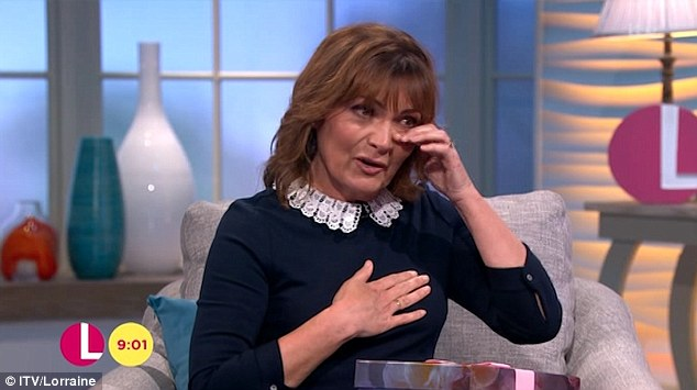 Lorraine Kelly Cries As Daughter Rosie Sends Mother's Day