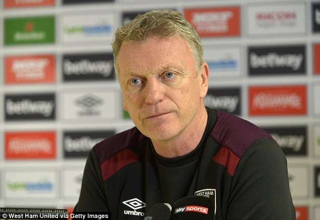 But Hammers manager David Moyes has said Hart will be recalled for the game against Burnley