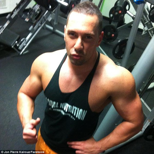 Mr Kairouz, a former Warwick man, was once described as an aspiring 'Nike bikie' and was known for his flashy lifestyle