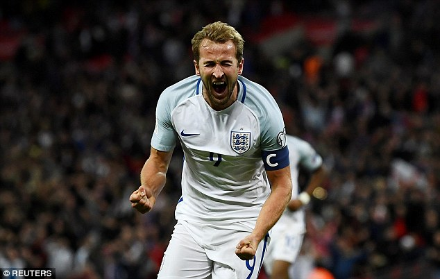 Kane has captained England on four occasions as Gareth Southgate rotates the armband - and the Tottenham striker has scored five goals in those matches