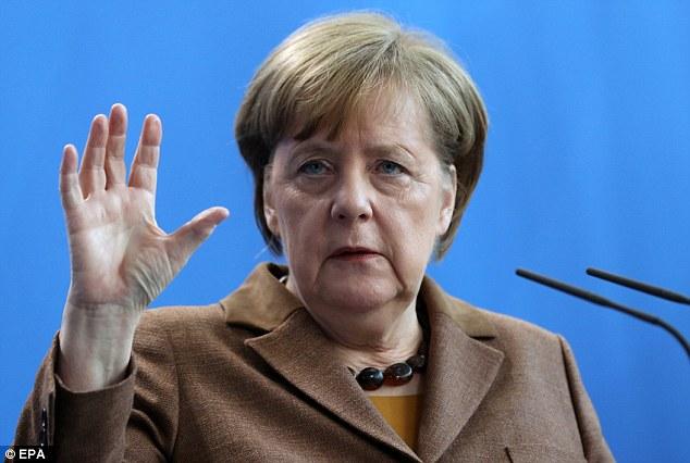 La afluencia masiva de inmigrantes de Alemania atrajo a más de un millón de personas a la economía más grande de Europa, la mitad de ellos a causa de la guerra en Siria, Irak y Afganistán.  En la foto: Angela Merkel, que abre las fronteras del país