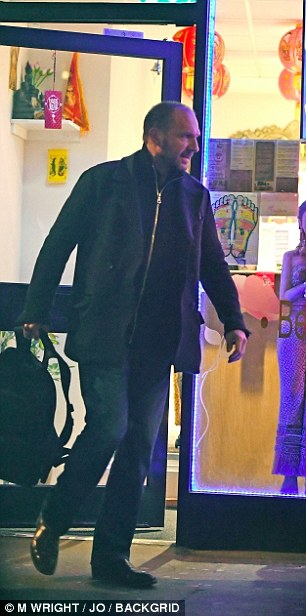 He was carrying a large black rucksack as he emerged from the venue, which closes at 4am