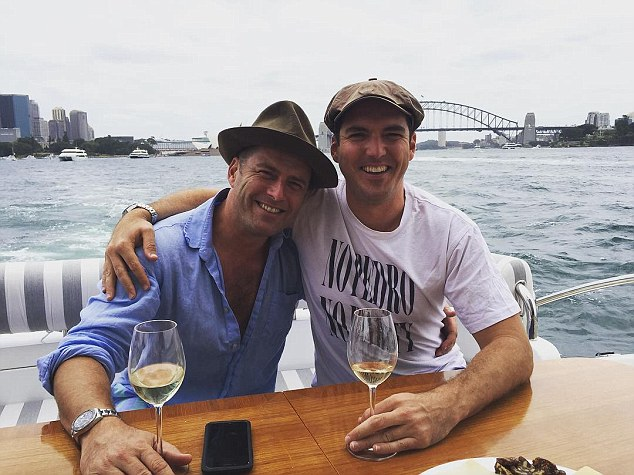 Brothers: The bombshell claims were made by veteran entertainment journalist Peter Ford during a segment on The Kyle & Jackie O Show on Monday. Pictured: Karl and Peter Stefanovic