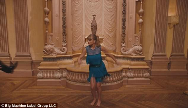 Image result for taylor swift leaping onto elevator in delicate music video