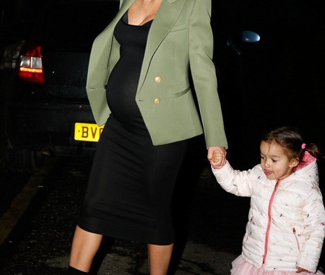 Bumping Along Helen Flanagan Showcased Her Beautiful Baby Bump As She Stepped Out With Toddler