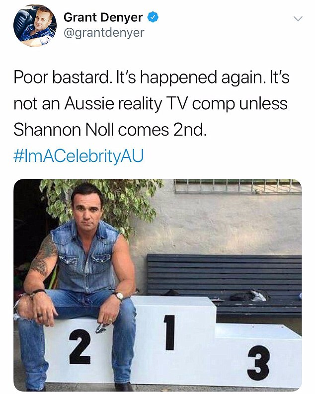 It happened again! Family Feud host and radio personality Grant Denyer took a quick dig at the country singer
