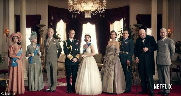 Moving on: Matt has revealed that producers of Netflix series The Crown have 'made amends' after it emerged his co-star Claire Foy was paid less than him for two seasons