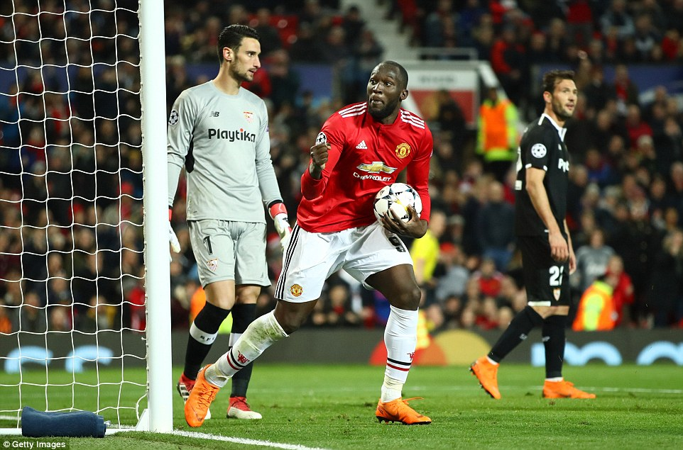 Romelu Lukaku managed to pull a goal back for United, but it turned out to be too little too late for Jose Mourinho's side
