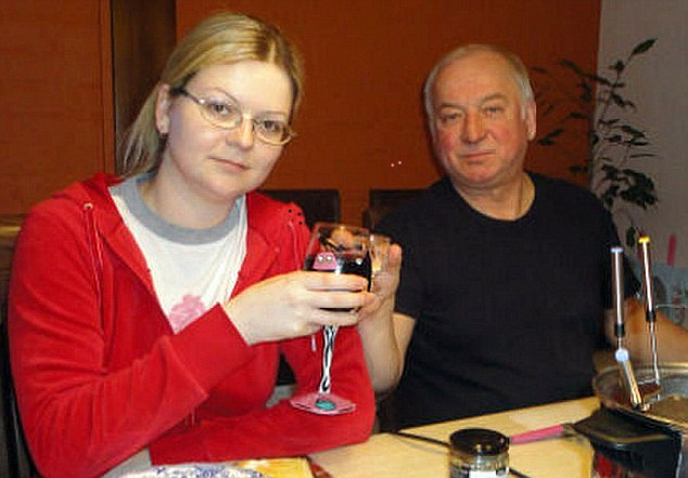 Yulia, 33, and Sergei Skripal, 66, are both fighting for their lives following the poison plot