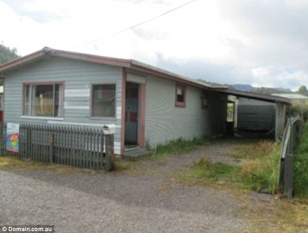 Is this Australia's cheapest home? A two-bedroom home in Queenstown, Tasmania, costs just $130-a-week to rent